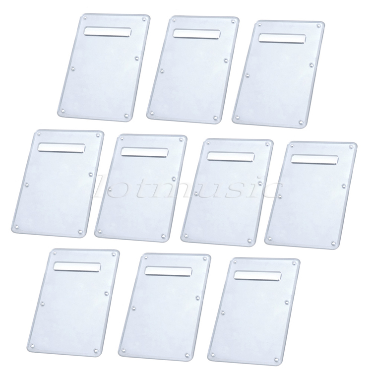 10Pcs PVC Mirror Back Plate Tremolo Cavity Cover for Electric Guitar Replacement original a1706 a1708 lcd back cover for macbook pro13 2016 a1706 a1708 laptop replacement