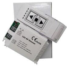 High Voltage 3keys remote controller wireless LED Brightness RF Dimmer Trailing Edge Dimming For lights bulb DM014;AC90-240V