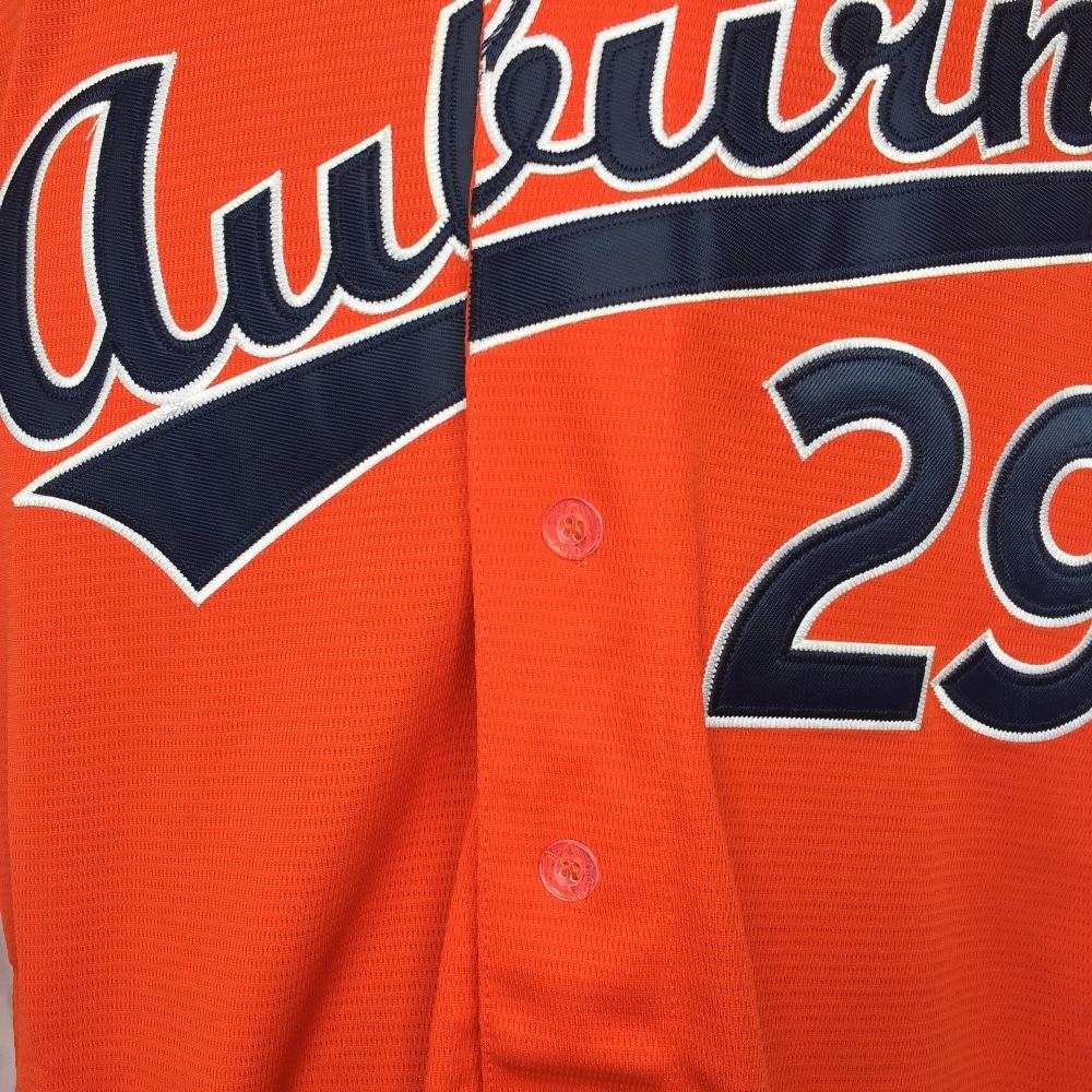 huge discount 04d38 2e8af DUEWEER Auburn Tigers Bo Jackson College Baseball Jerseys ...