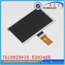 New 7 ''polegadas Lcd 7610029910 Tela E203460 LCD 164*97mm para tablet pc Resolução 800*480 Frete grátis