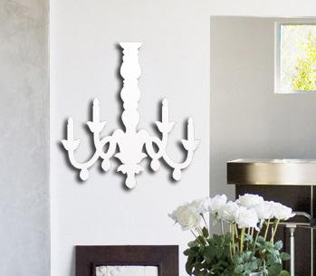 nuevo diseo candelabro saln sof espejo pegatinas de pared para de nios dormitorio decoracin