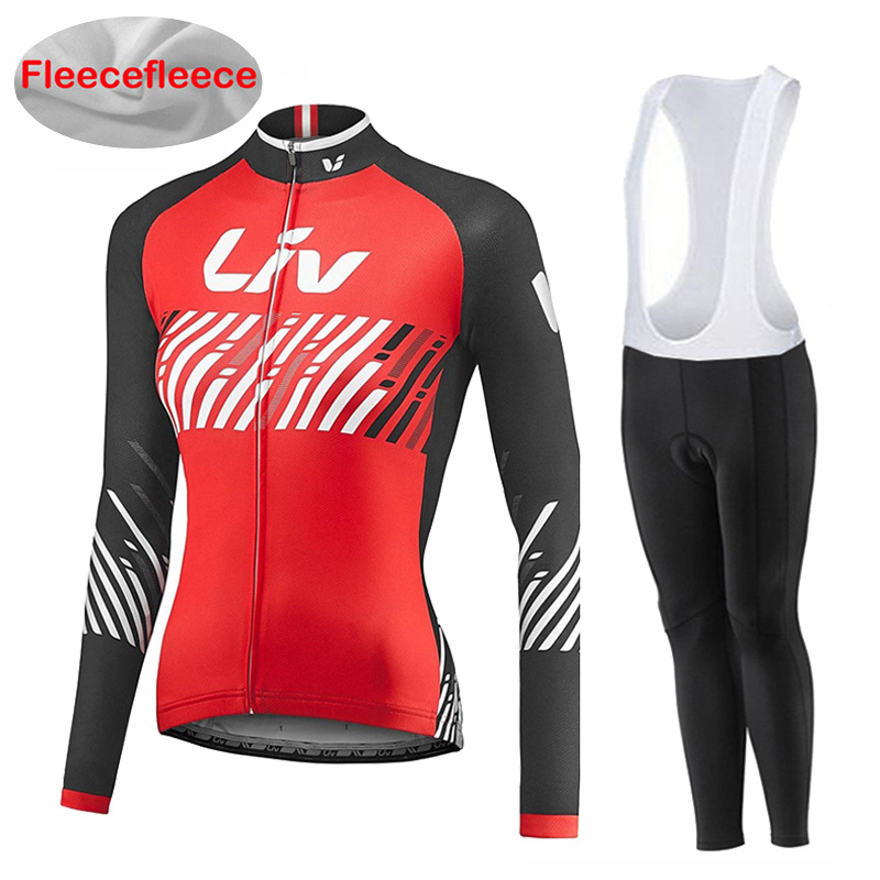 2017 New arrival LIV Winter cycling clothing Thermal fleece cycling jersey long mtb ropa ciclismo hombre bike cycling clothes 2018 new arrival winter cycling clothing thermal fleece cycling jersey long sleeve mtb ropa ciclismo hombre bike cycling clothes