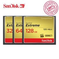 SanDisk Memory Card Extreme CompactFlash 16GB 32GB 64GB 128GB CF Card 800X VPG 20 120MB S