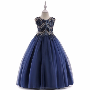 Cheap Lace And Tulle Flower Girl Kids Formal Wear Dresses For Ball Gown Princess Girls Pageant Gowns Communion Dress baby princess dress white flower girls dresses big ball gown short sleeve lace summer girl s dress kids tulle bow gowns e315