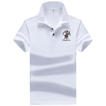 5b5268137bf48 YIHUAHOO мужские рубашки поло высокого качества мужские хлопковые летние  рубашки с короткими рукавами брендовые майки поло Para Hombre Размер M-4XL .