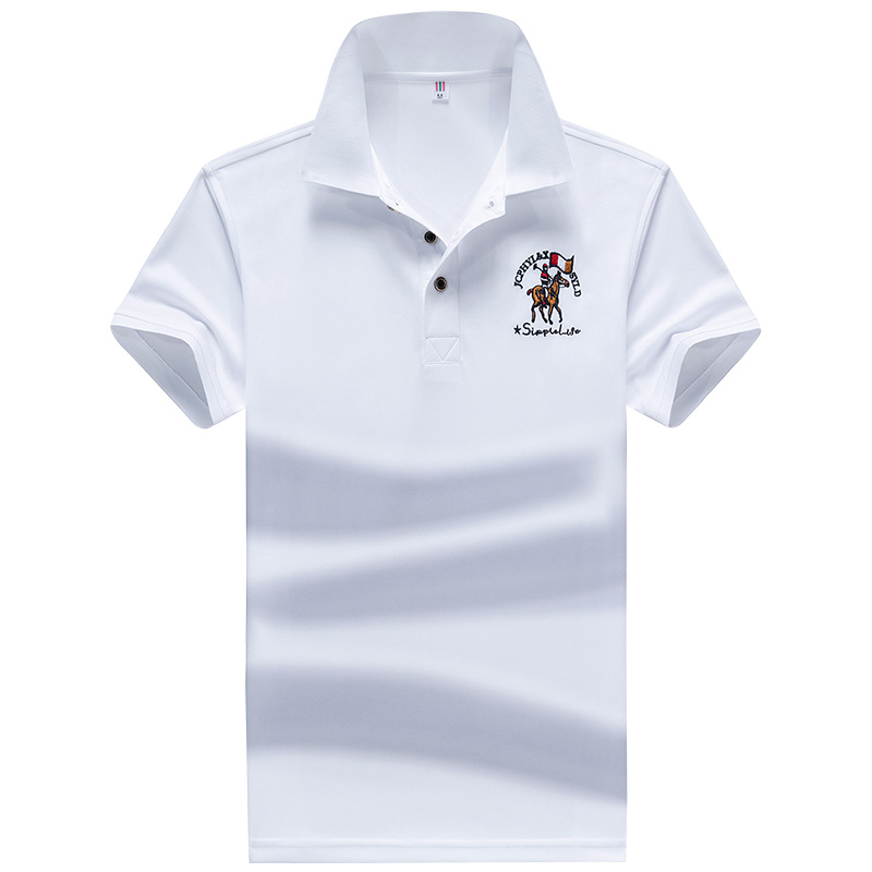 YIHUAHOO   Polo   Shirt Men High Quality Men Cotton Short Sleeved Summer Shirt Brand Jerseys   Polos   Para Hombre Size M-4XL JCP-731