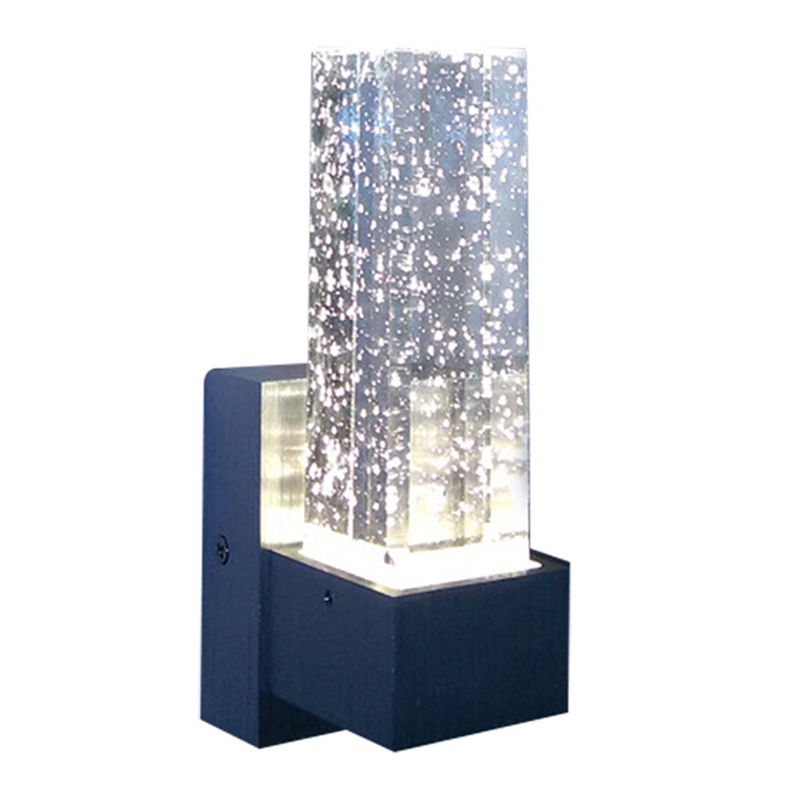 3w Wall Light Led Night Light Wall Sconces Crystal Led Wall Lamp