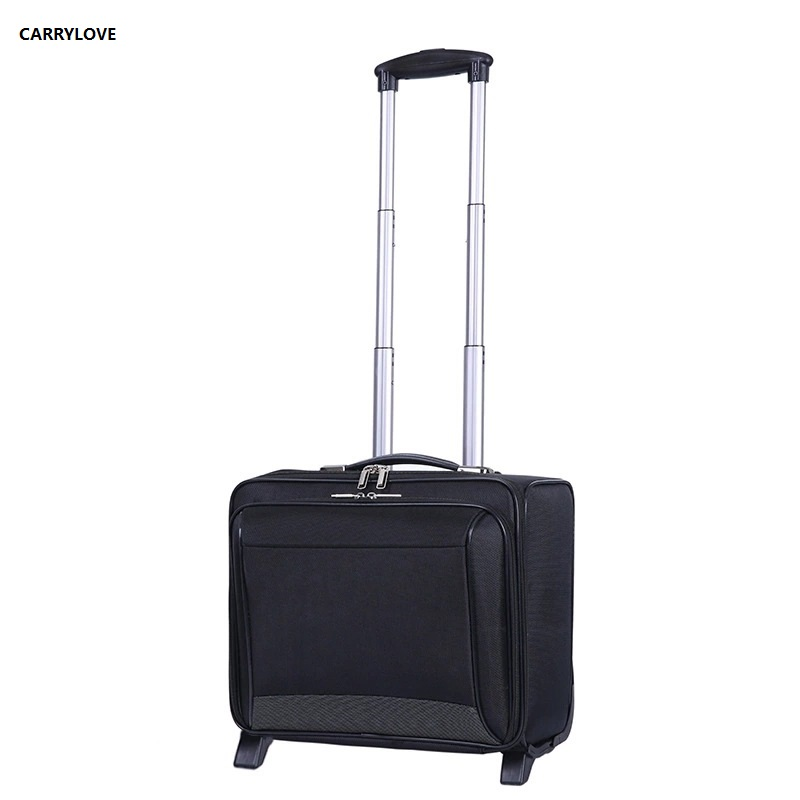 все цены на CARRYLOVE Business luggage 16 size short journey Business Men Rolling Luggage Spinner brand Travel Suitcase