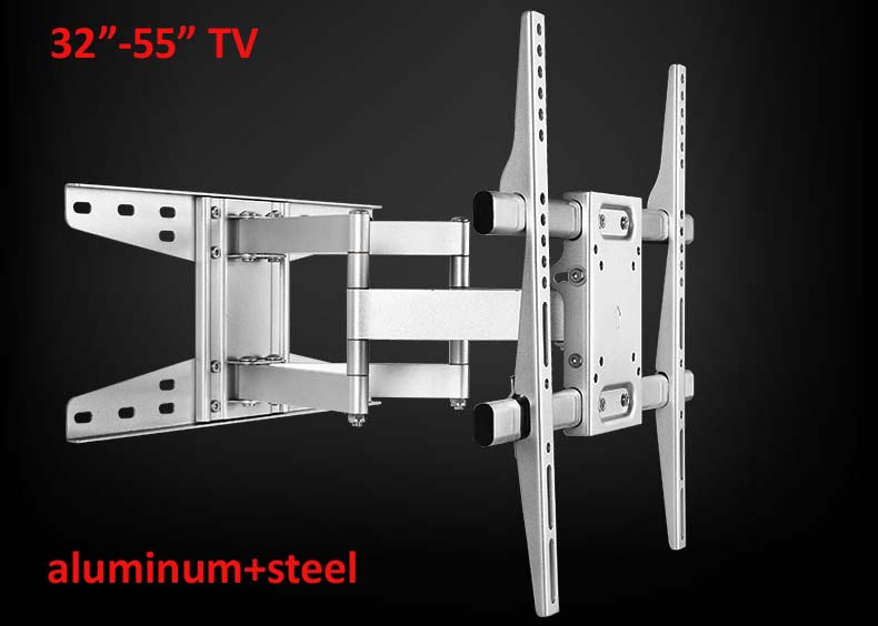 aluminum 55inch 42inch retractable led tv wall mount big size lcd bracket stand plasma holder oneforall urc 1913 philips lcd plasma led элт