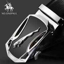 NO.ONEPAUL Fashion new style Belts For Men Genuine Leather Cowskin Belt Automatic Buckle High Quality Business Male Men's Belts belts men 140cm 150cm 160cm 2017new fashion business casual male belt strong men best popular selling goods cool choice hot sale