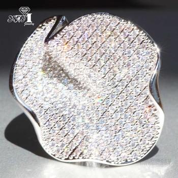 YaYI biżuteria moda księżniczka Cut 4 9 CT biały cyrkon srebrny kolor pierścionki zaręczynowe obrączki ślubne pierścionki Party prezenty tanie i dobre opinie Zaręczyny Zespoły weselne Kobiety Cyrkonia TRENDY 20mm Prong ustawianie yayi jewelry Geometryczne HR701 Miedzi NONE Good Mood