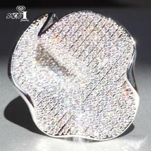 YaYI biżuteria moda księżniczka Cut 4 9 CT biały cyrkon srebrny kolor pierścionki zaręczynowe obrączki ślubne pierścionki Party prezenty tanie tanio Zaręczyny Zespoły weselne Kobiety Cyrkonia TRENDY 20mm Prong ustawianie yayi jewelry Geometryczne HR701 Miedzi NONE Good Mood
