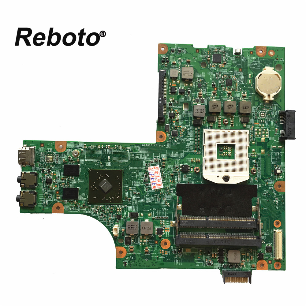 Reboto High quality Laptop Motherboard For DELL N5010 0VX53T VX53T HM57 HD 5470M 48 4HH01 011