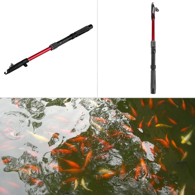 Outdoor Sport Sea Fishing Telescopic 1.8M Fish Rods Fishing Rod Luxury Fishing free shipping