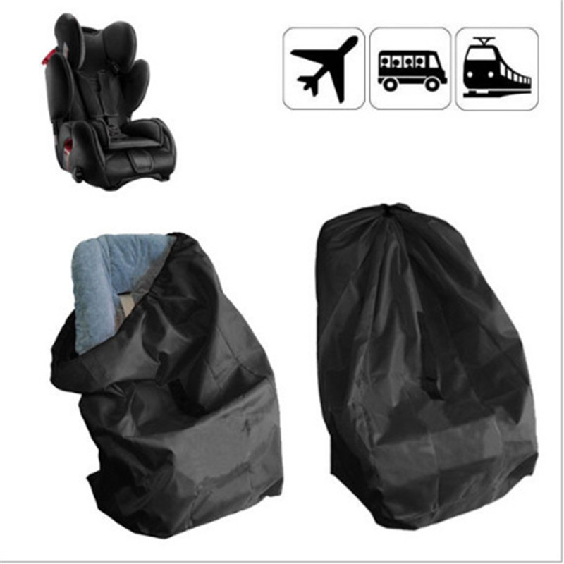 Portable Car Seat Travel Bag for Baby Child Black Car Safety Seat Dust Protection Cover Bag Travelling Stroller Bag AccessoriesPortable Car Seat Travel Bag for Baby Child Black Car Safety Seat Dust Protection Cover Bag Travelling Stroller Bag Accessories