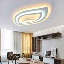 Dim modern led tavan ışıkları oturma odası yatak odası için Uzaktan kumanda ultra-ince akrilik modern led tavan lambası ücretsiz posta