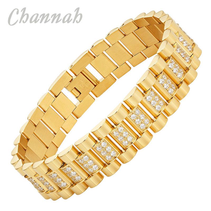 Channah 2017 Men 168pcs Crystals Golden s