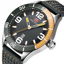MINI FOCUS Fashion Men Metal Waterproof Watch Adjustable Band Accessory
