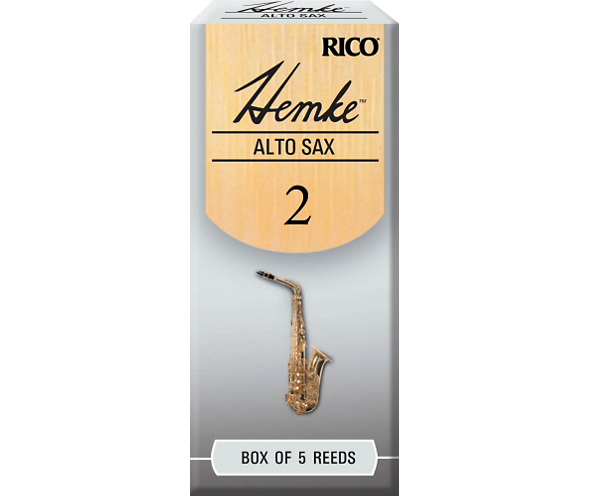 Rico By D'addario Frederick Hemke Alto Sax Saxophone Reeds In Strength 2/2.5/3/3.5, 1/piece Or 5/piece Pack
