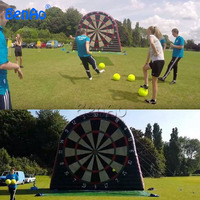S164 inflatable football goal,inflatable football toss game,gonflable cible foot,inflatable sport games