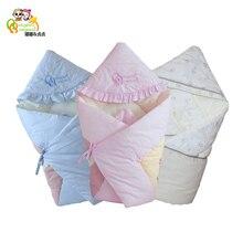 Baby Swaddle 90 * 90cm Baby Blanket Tjockt Varmt Berber Fleece Kuvert För Nyfödda Spädbarn Wrap Baby Sängkläder Sova