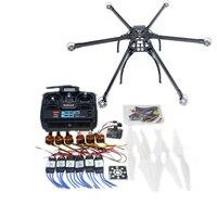 Мульти ротор DIY Hexacopter самолета Рамки комплект Радиолинк T6EHP E TX и RX ESC Двигатель KK v2.3 плате f10513 a