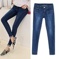 Factory direct sales Elastic high quality Large size woman Jeans Solid color Paige XL-5XL Tether Mopo Pencil female Jeans