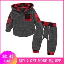 b425b2398abd0 2019 printemps Plaid nouveau-né vêtements bébé garçons vêtements pour  garçon tenues enfants costume bébé