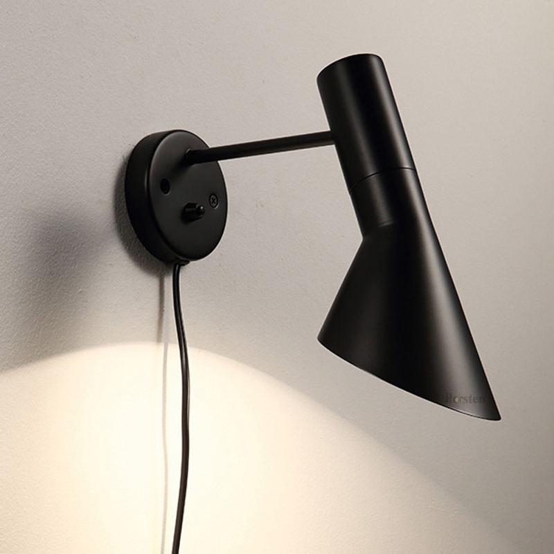 Modern Creative Wall Lamp Bedside Lamps E27 Classic Wall Lights For Living Room Bedroom Adjustable Wall Sconce E27 (6)