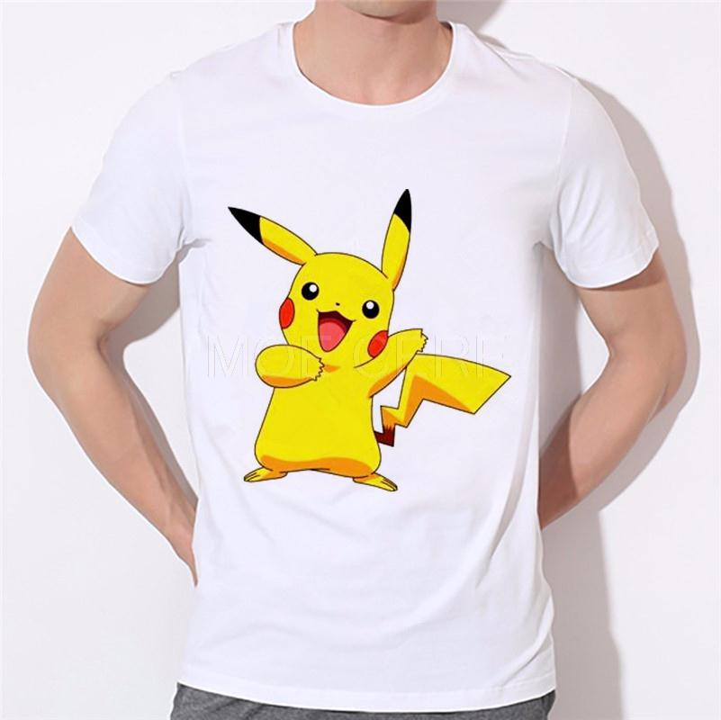 Compra Pikachu camiseta online al por mayor de China