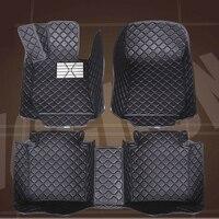 SUNNY FOX Car floor mats Case for Skoda Octavia Superb Yeti Fabia spaceback 5D heavy duty car styling carpet floor liner