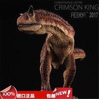 1/35 REBOR Jurassic Dinosaur Model High Simulation Toy Carnotaurus/Meat Collection Gift L27*H9cm