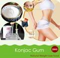 250g Thickener Konjac Gum Powder Dietary Fibers Meal Replacement Weight control Konjac Glucomannan Powder