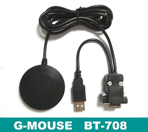 US $26 09 |G Mouse GPS Receiver Position Module Ublox G7020 KT Chip BT 708  Interface: DB9/USB/DB9&USB/Earphone plug (optional) rs232-in Parts &