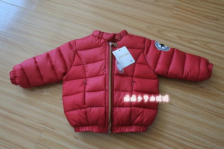 Yeni moda kiçik oğlan 1-5 yaş qış çörək pencəyi qalın palto - Uşaq geyimləri - Fotoqrafiya 4