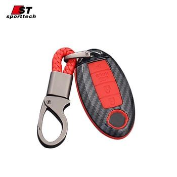 רכב סטיילינג Keychain עבור אינפיניטי Q50L QX30/50/60/80 Q50 Q60 Q70 FX JX QX g/M סדרת עבור אינפיניטי מפתח טבעת מקרה כיסוי בעל-במחזיק מפתחות לרכב מתוך רכבים ואופנועים באתר