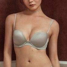 Lala's peach Underwire Lingerie 3/4 Cup Sexy Bra Women Underwear Adjustment Push Up Bra 32 34 36 38 Seamless Bras For Women