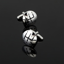 CK276High quality men's shirts Cufflinks silver car stalls Cufflinks mens clothing accessories can be used as a gift for friends