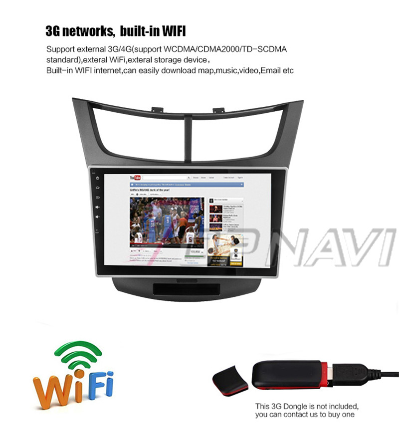 car stereo bluetooth For Chevrolet Sail 3 2015