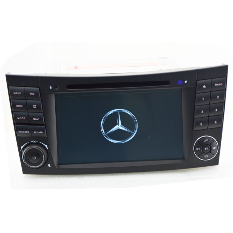 Car Stereo DVD Player <font><b>For</b></font> <font><b>Mercedes</b></font>/Benz W211 W219 W463 CLS350 CLS500 CLS55 <font><b>E200</b></font> E220 E240 E270 E280 With <font><b>GPS</b></font> Navigation System image
