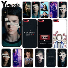 Yinuoda 13 Reasons Why Custom Photo Soft Phone Case for iPhone X XS MAX 6 6S 7 7plus 8 8Plus 5 5S XR cover