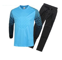 Soccer Jersey triseven Goalkeeper Sets 4 Colors Training Porteros ropa Football Shirts Style 0003 Kids Adult size Customize