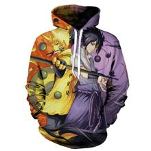 Hot Anime Naruto Hoodies Men Women Winter pullovers 3D Hooded naruto cosplay Sweatshirts action figure Jacket Tops