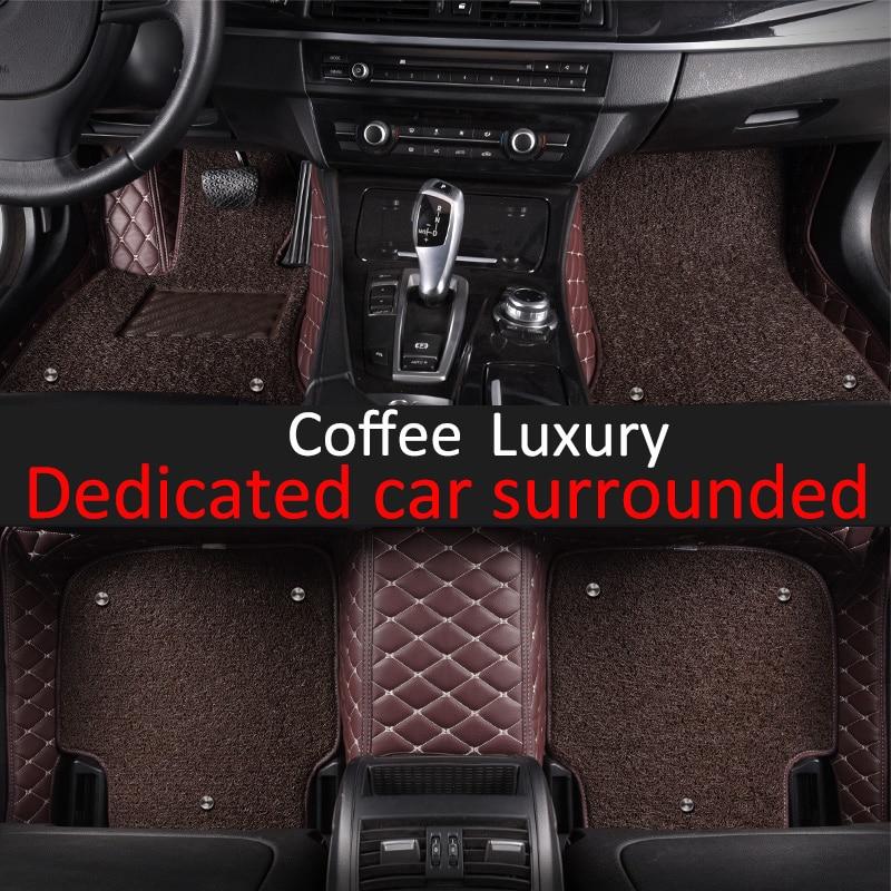 Custom make car floor mats for Audi A5 sportback S5 A3 A4 A6 A7 A8 A8L Q3 Q5 Q7 5D  leather rugs carpet floor liners   Custom make car floor mats for Audi A5 sportback S5 A3 A4 A6 A7 A8 A8L Q3 Q5 Q7 5D  leather rugs carpet floor liners