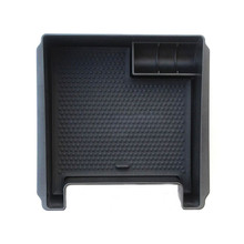 все цены на Fit For Volvo XC60 S60 V60 S60L Auto Car Interior Console Middle Armrest Storage Box Container Holder Tray ABS Black онлайн