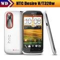 """11.11 venta T328w Original para HTC Desire V GPS Wi-Fi 5.0MP 4.0 """" pantalla táctil 3 G teléfono Android envío gratis"""