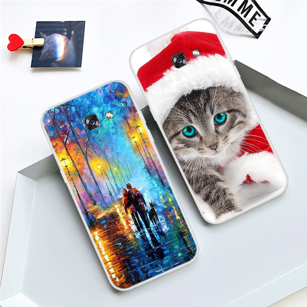 For Samsung Galaxy A5 2017 Case Cover for Samsung A5 2017 Cases Carton Soft Full Cover For Samsung Galaxy A5 2017 SM-A520F Funda image