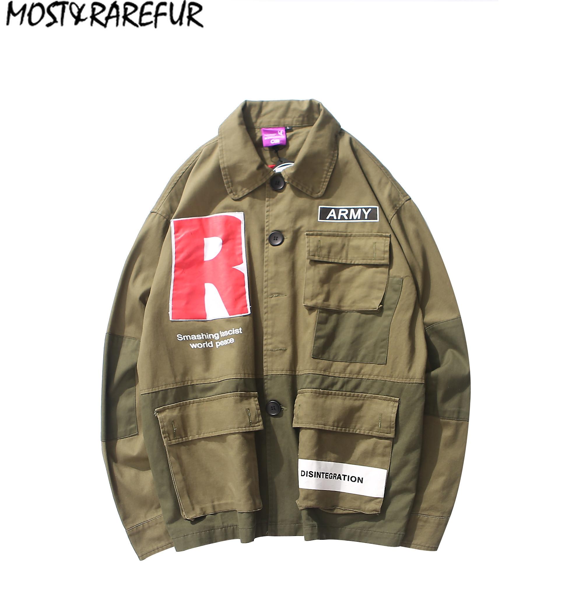 Detalle Comentarios Preguntas sobre La mayoría de los abrigos de moda Hip  Hop chaqueta de bombardero chaqueta militar rompevientos en Aliexpress.com   23ff04c2faf