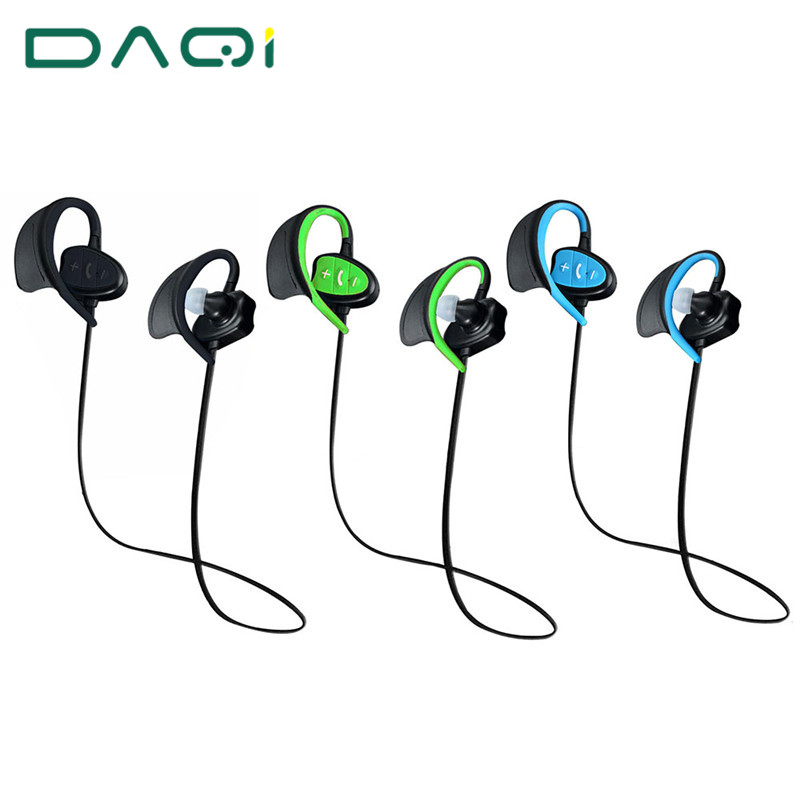 Waterproof Bluetooth Earphone Wireless Sports Headphones In ear Headset Running Stereo Earbuds Handsfree with Mic for Smartphone portable wireless bluetooth earphone handsfree mini headset stereo earbuds usb docking car charger for iphone smartphone 2 in 1