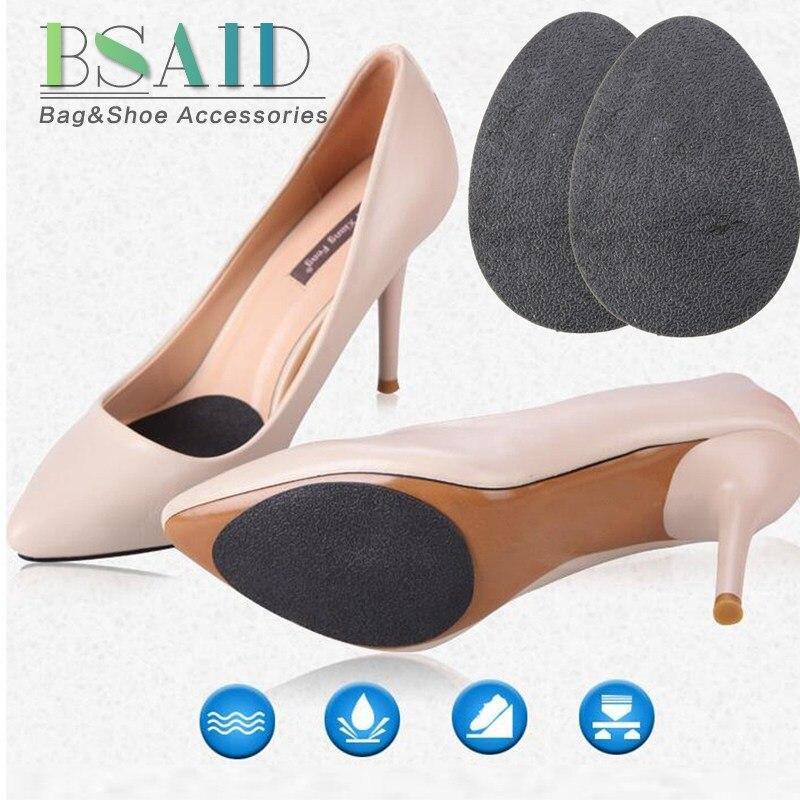 BSAID 1 Pair Non-slip Shoe Pads Women Men Antislip Rubber Shoes Outsoles Pad / Shoe Insoles Forefoot Pads Protector Half InsertsBSAID 1 Pair Non-slip Shoe Pads Women Men Antislip Rubber Shoes Outsoles Pad / Shoe Insoles Forefoot Pads Protector Half Inserts